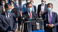 Ludovic Orban a ajuns în Vrancea. Premierul îndeamnă vrâncenii să voteze Ion Ștefan pentru primăria Focșani și Cătălin Toma pentru președinția CJ