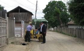 Chiciura a lasat fara apa un sat din Paunesti