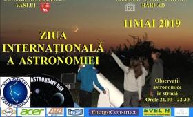 Ziua Internaţională a Astronomiei sărbătorită la Planetarium din Bîrlad
