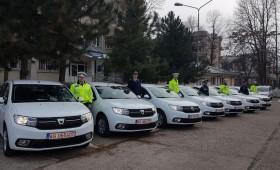 Cadou: Mașini noi pentru polițiștii vrânceni