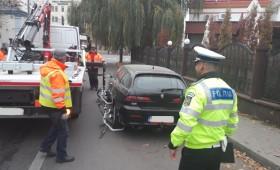 Șoferii ce au parcat neregulamentar, sancționați de polițiști