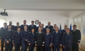 Polițiști avansați în grad de Ziua României