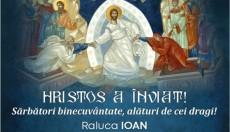 Hristos a Înviat! senator Raluca Ioan