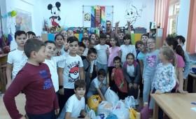 Eco-prietenii cântăreți au donat semințe pentru ACDB