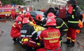 Pompierii s-au întrecut în acordarea primului ajutor