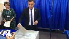 Ministrul Dezvoltării a votat la o secție din Focșani