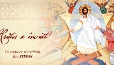 Hristos a Înviat! deputat Ion Ștefan