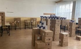 Guvernul României a trimis în Vrancea prima tranșă de tablete