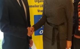 Ana Maria Dimitriu a fost aleasă președinte al OFL a PNL Vrancea