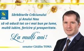 La mulți ani! Cătălin Toma – senator PNL