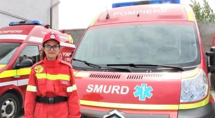 Voluntar SMURD la I.S.U. Vrancea