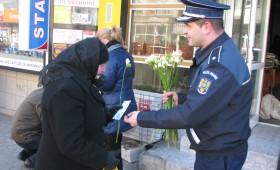 Flori pentru femei de la poliţişti
